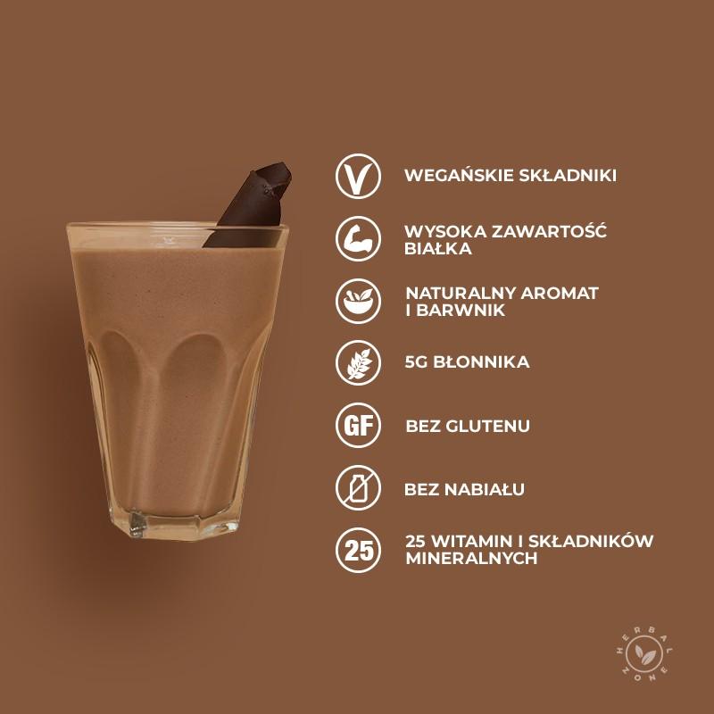 Koktajl o smaku delikatnej czekolady Herbalife