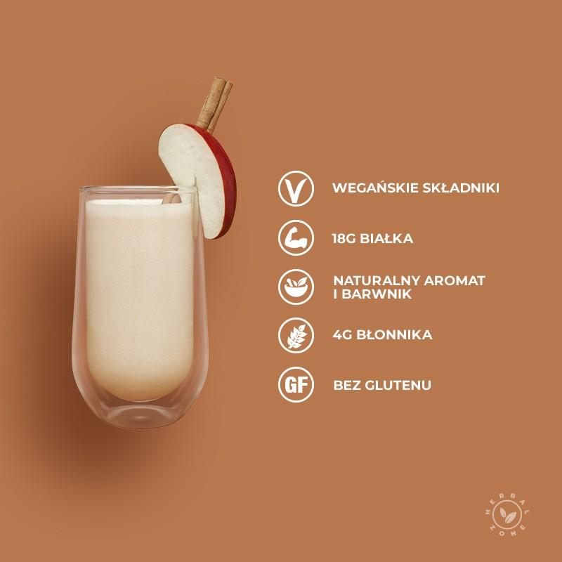 Koktajl odżywczy jabłka z korzennymi przyprawami