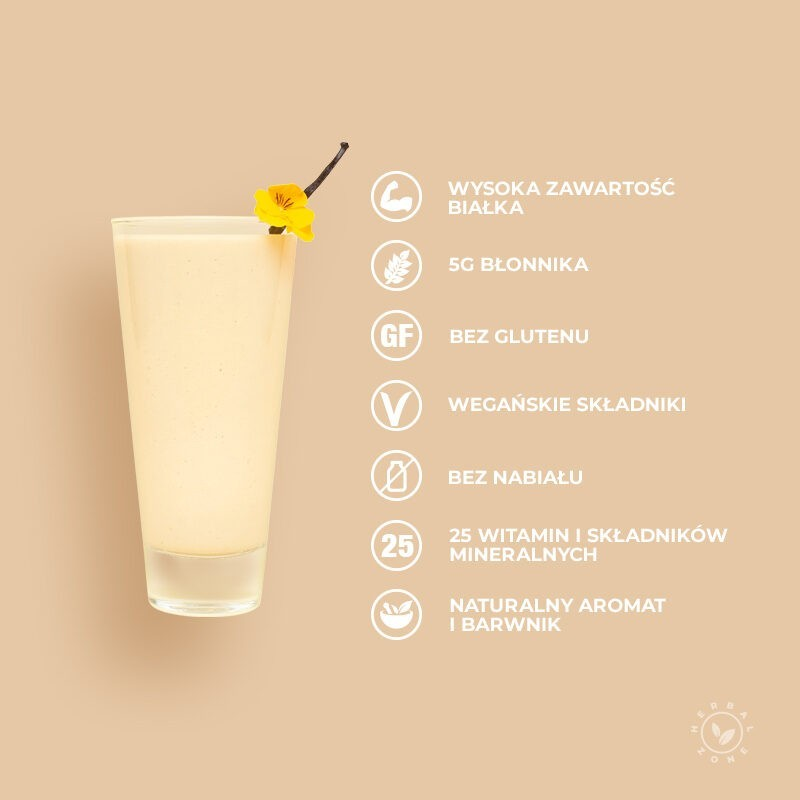 Koktajl odżywczy waniliowo-śmietankowy Herbalife