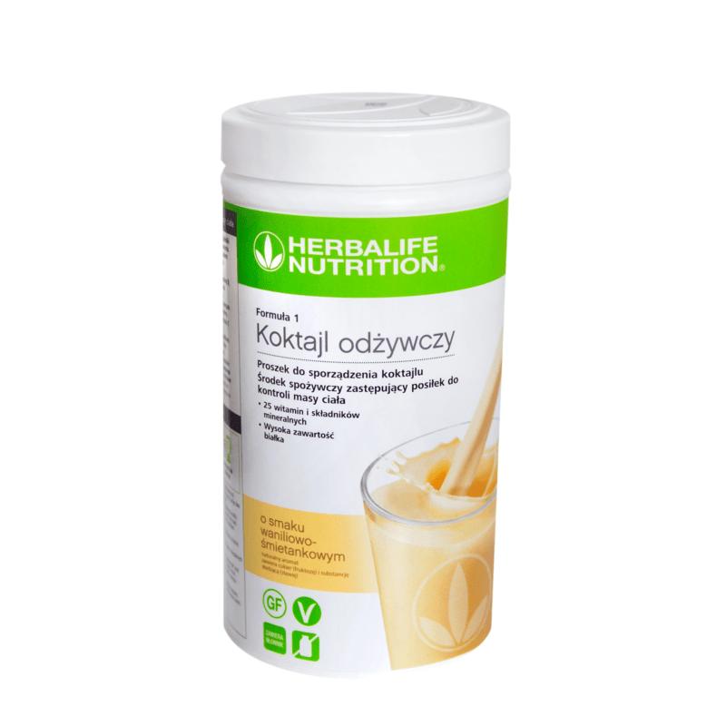 Koktajl odżywczy Formuła 1 – 780 g – waniliowo-śmietankowy