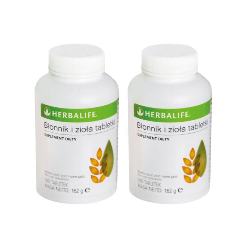 2 x błonnik i zioła Herbalife