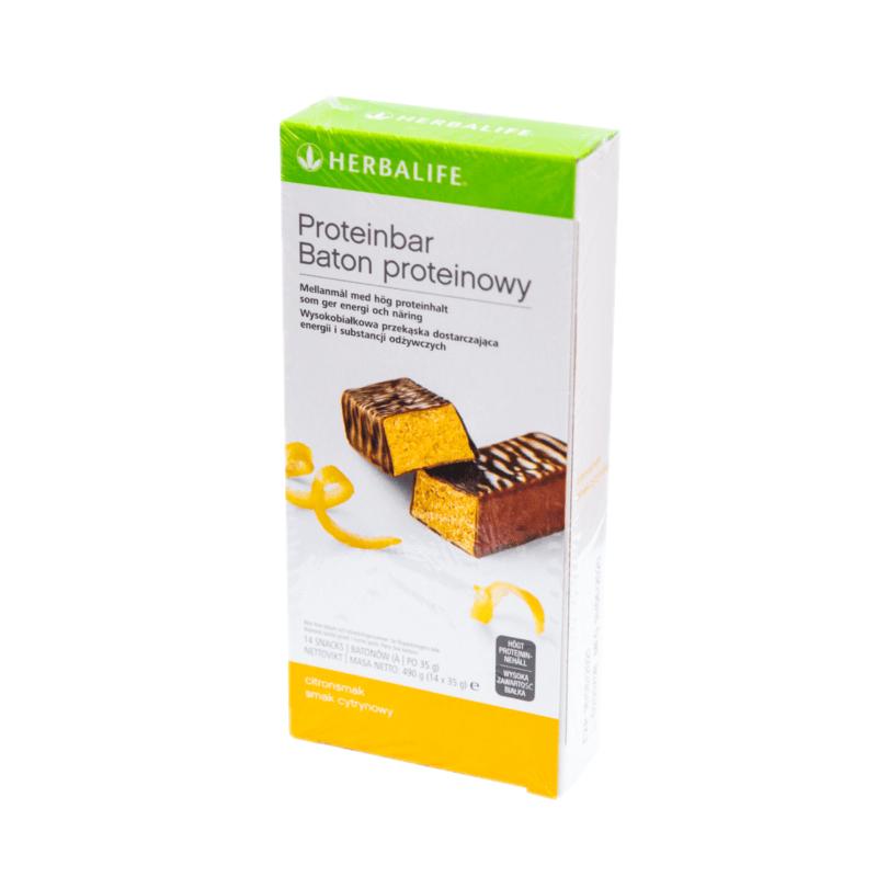 Batony Proteinowe cytrynowe – 14 sztuk